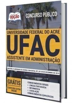 Apostila Concurso Ufac Assistente Em Administracao Em 2020
