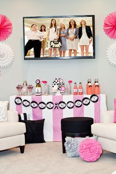 Bridesmaids movie inspired girls night in party