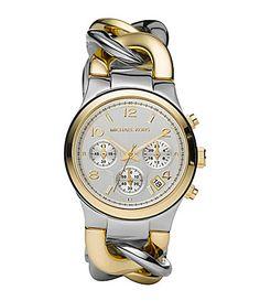 Michael Kors Runway Twist TwoTone Watch: My next big purchase!