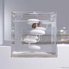 Waterscape Aquarium Exhibit - architectural fish tanks