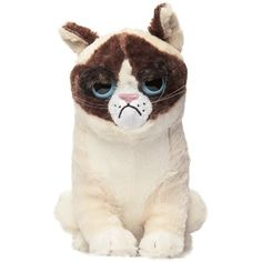 Grumpy Cat Plush Animal -- Continue to the product at the image link. (This is an affiliate link) #StuffedAnimalsPlushToys