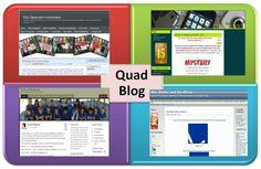 Quadblogging: collegare quattro aule di tutto il mondo attraverso il blog