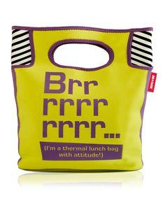 Small 'Brrrrrrrrrr…' Thermal Lunch Bag