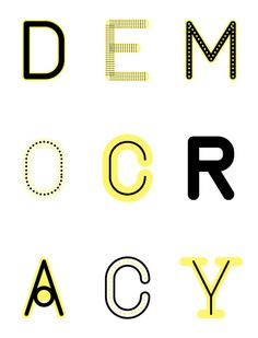Democracy by Sumo , via Behance