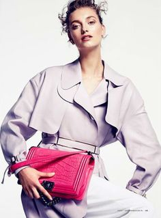 Harper's Bazaar Netherlands | September 2014 | Iris Van Berne | Mikael Schulz