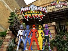 power ranger jungle fury - Google Search