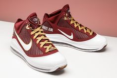 quality design 0a812 8d9a7 Nike Lebron 7  Christ The King  - Size 11