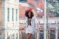 l love whimsical prints and a big bow!