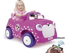Coche 6v Minnie Disney RC con aplicación al móvil. Feber 800010251, IndalChess.com Tienda de juguetes online y juegos de jardin