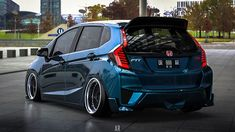 Honda Vtec, Honda Civic Hatchback, Honda Jazz, Honda Fit, Honda Bikes, Japan Cars, Street Racing, Car Shop, Custom Cars