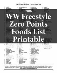 Weight watchers points book 2019