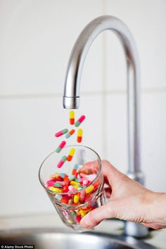 Is YOUR water poisoned by other people's pills? #dailymail