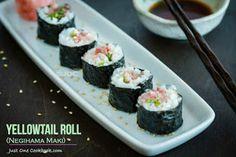 be healthy-page: Yellowtail Roll (Negihama Maki)