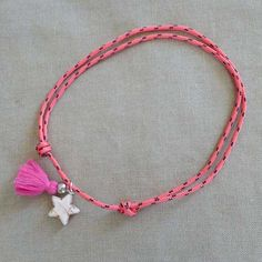 Collar Amarras Rosa by BelandSoph.com | Bel and Soph .com