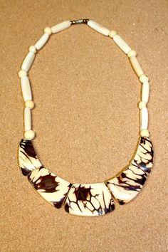 Tagua Nut-Ivory Necklace
