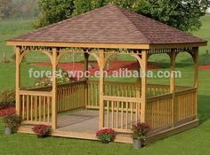 Outdoor Gazebo With Wpc Roof Plastic Roof Gazebos Large Outdoor Gloriette Photo, Detailed about Outdoor Gazebo With Wpc Roof Plastic Roof Gazebos Large Outdoor Gloriette Picture on Alibaba.com.