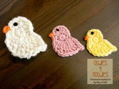 Spring Chick Applique Pattern  Aren't the little chicks cute! Here is how you can make one!
