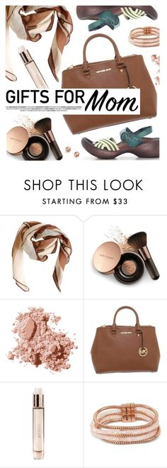 """Gift Guide: Your Mom and Sis"" by regettacanoe ❤ liked on Polyvore featuring HUGO, Nude by Nature, Bobbi Brown Cosmetics, Michael Kors, Burberry, Betsey Johnson, Bloomingdale's, giftguide, polyvoreeditorial and polyvoreset"