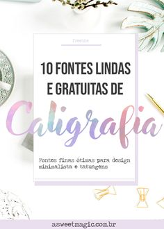 Fine Calligraphy Fonts for use in Designs and Tattoos - New Sites Marketing Visual, Digital Marketing, Magic Font, Picsart, Sweet Magic, Hand Lettering For Beginners, Foto Blog, Lettering Tutorial, Calligraphy Fonts