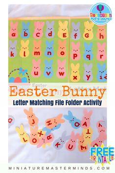 Easter Bunny Alphabe