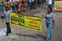 Desfile Cívico do Aniversário de Bofete - 135 anos - Comércios - Taxi Central Bofete