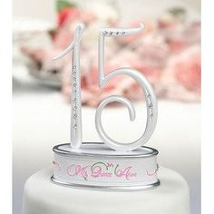 Mis Quince Años Caketop -15.  --  FREE SUPER SAVER SHIPPING for a limited time!