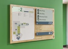 Wayfinding System For the Cleveland Museum of Natural History