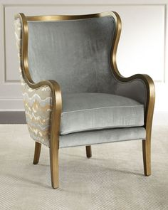 Shop Syranno Wing Chair from Massoud at Horchow, where you'll find new lower shipping on hundreds of home furnishings and gifts. Upholstered Chairs, Wingback Chair, Swivel Chair, Chair Cushions, Wing Chair, Vintage Chairs, Classic Furniture, Cool Chairs, Bag Chairs