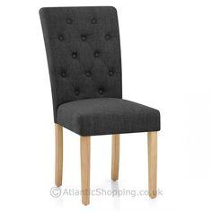 Vigo Chair Oak & Grey - Atlantic Shopping
