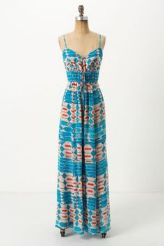 Desert Turquoise Maxi Dress