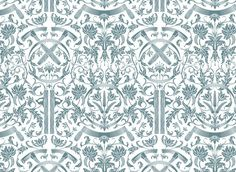 dan funderburgh's wythe toile wallpaper
