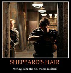 Sheppard's Hair by P90Fox