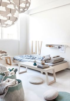 Rafa-kids furniture collection photographed in children's rooms. Unique, eco-friendly furniture for modern design interiors with scandinavian touch. Kids Beds With Storage, Teen Bedroom Makeover, Bunk Bed With Desk, Teen Bedding, Kids Bedroom Furniture, Wood Furniture, Childrens Beds, Kids Room Design, Kids Decor
