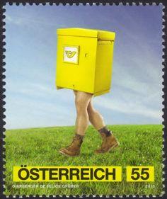 Stamp: Advertising Art – Post (Austria) (Post) Mi:AT 2865,Yt:AT 2693,ANK:AT…