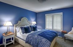 master bedroom blue - Google Search