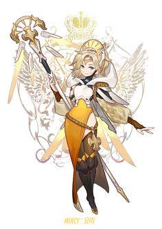 Mercy by chkuyomi