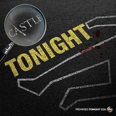 """""""It's the day you've been waiting for! The season premiere of #Castle is TONIGHT at 10