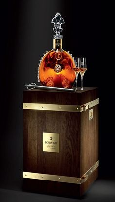 Remy Martin's Louis XIII Cognac. Masculine & elegance. Luxury drinks. Luxury lifestyle. Luxury goods. For more decor inspirations: http://designlimitededition.com/
