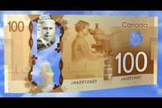 The Canadian $100 bill has a vial of insulin on it ( as well it should! )