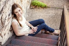 Portrait Session Details - Capturing Joy with Kristen Duke  I like the stairs...