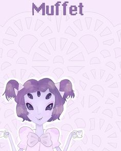 """Hi again! Here is my rendition of the character Muffet from Undertale! Her character design was too cute to pass up drawing! I experimented a lot in this drawing, so I hope you like it!"" straberrymilk.paigeeworld.com #undertale #muffet #spider #gamefanart #rpg #fanart ~Moonie"