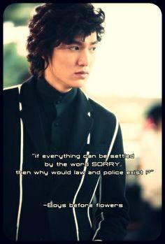 Lee Min Ho as Goo Joon Pyo.