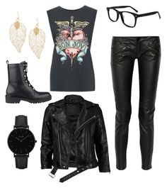 """""""We'll make it I swear!"""" by random-pandas-are-awesome ❤ liked on Polyvore featuring GUESS, WithChic, Maje, VIPARO and CLUSE"""