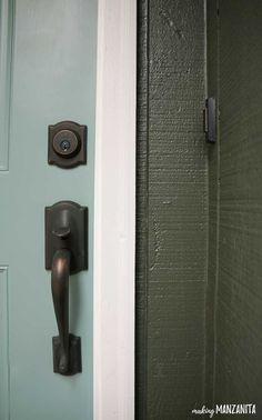 Choosing Front Door Paint Colors (& How To Paint A Door | Door paint ...