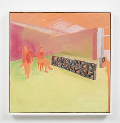 Kate Small, Staffroom, Thursday, 2015, Oil on board, 500 x 500mm