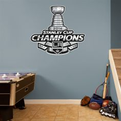 Los Angeles Kings 2014 Stanley Cup Champions Logo