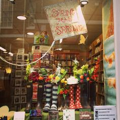 Spring has sprung in Oxfam Petergate!