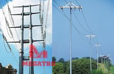 In generally, distribution pole often use power voltage less 230KV, MEGATRO had provided too many distribution pole to overseas client, I.E for African client we often design 132KV or below voltage power transmission project; for Asian client, we provide 110KV or below distribution line pole. Transmission Tower, Zhuhai, Qingdao, Electrical Equipment, Utility Pole, African, City, Projects, Design