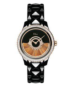 La montre Dior VIII Grand Bal en or rose de Dior http://www.vogue.fr/joaillerie/le-bijou-du-jour/diaporama/la-montre-dior-viii-grand-bal-en-or-rose-de-dior/11643