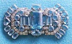 From Her Majesty's Jewel Vault: The Queen Mother's Aquamarine Art Deco Brooch